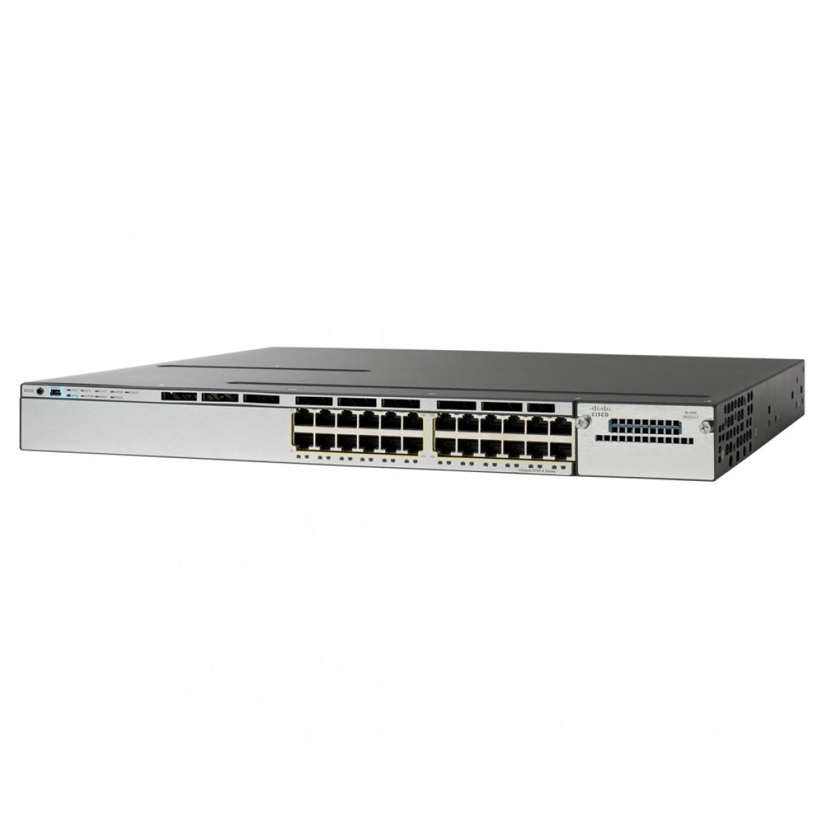 Коммутатор Cisco Catalyst 3850 24 Port PoE IP Base