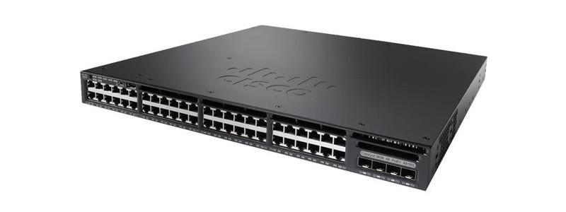 Коммутатор Cisco Catalyst 3650 48 Port PoE 4x10G Uplink LAN Base