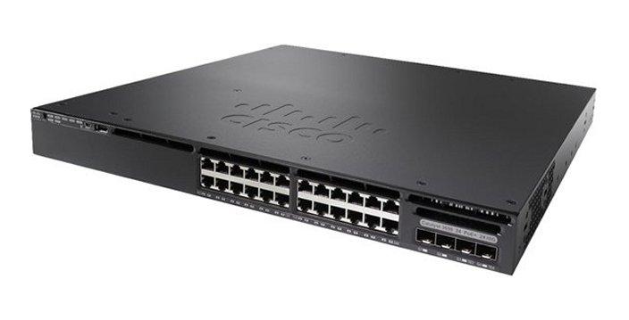 Коммутатор Cisco Catalyst 3650 24 Port PoE 2x10G Uplink IP Base