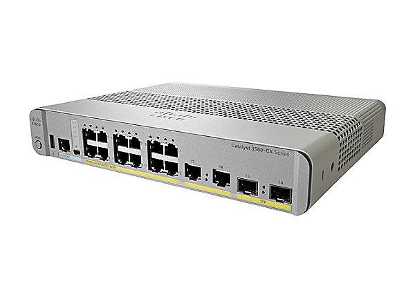 Коммутатор Cisco Catalyst 3560-CX 12 Port PoE IP Base