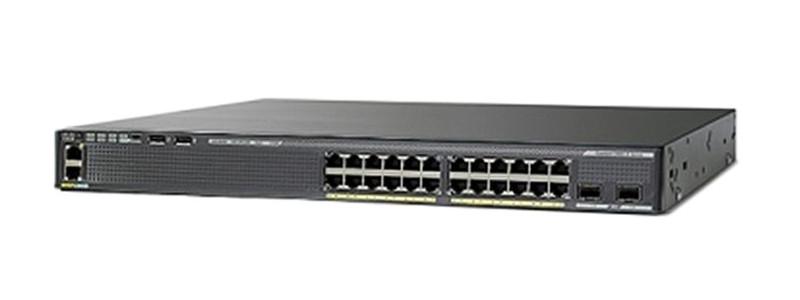 Коммутатор Catalyst 2960-XR 24 GigE PoE 370W, 4 x 1G SFP, IP Lite