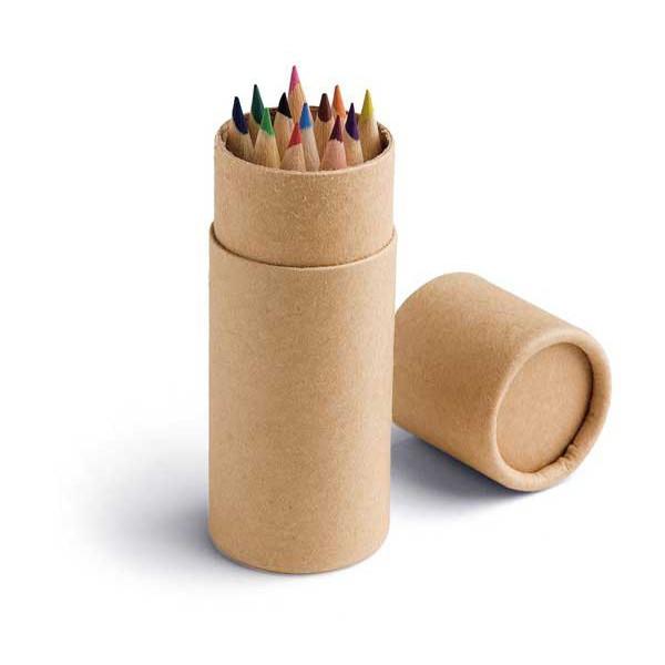 Набор карандашей 12 шт. (цветные), CYLINDER
