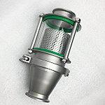 """Джин-корзина. Устройство для насыщения спиртовых паров ароматами трав или ягод при дистилляции. Крепится на клампы 2""""."""