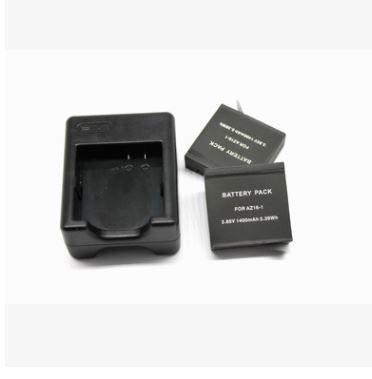 Зарядное устройство для 2 аккумуляторов для GoPro