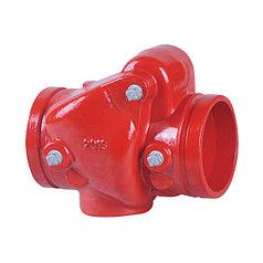 Обратный клапан с пазовым соединением