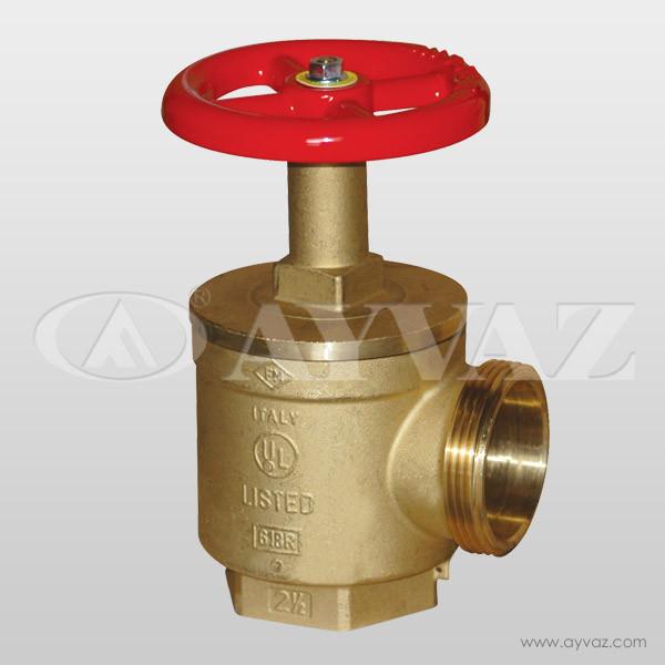 Угловой латунный клапан / модель AHV – 100 & 200