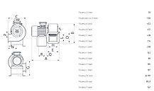 Промышленный центробежный вентилятор C 40/4 T E, фото 3