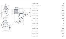 Промышленный центробежный вентилятор C 45/4 T E, фото 3