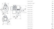 Промышленный центробежный вентилятор C 46/4 T E, фото 3