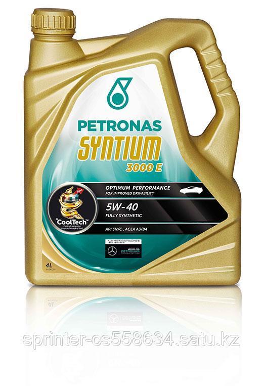Моторное масло Petronas Syntium 3000 E 5w40 5 литров