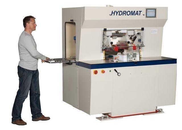 3-ножевая бумагорезательная машина HYDROMAT 900A (Германия)