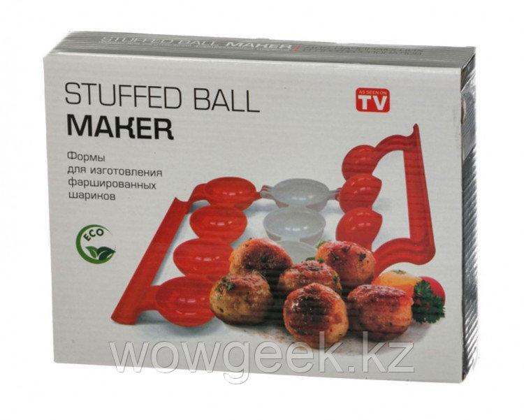 Форма для приготовления фаршированных шариков