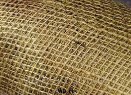 Ткань упаковочная, мешковина джутовая, джут - плотность 220гр/кв.м, ширина 110см