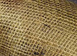 Мешковина джутовая, плотность 220 гр/кв.м, ширина 110 см