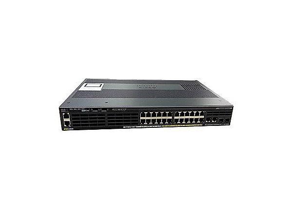 Ком мутатор Catalyst 2960-X 24 GigE PoE 110W, 2xSFP + 2x1GBT, LAN Base