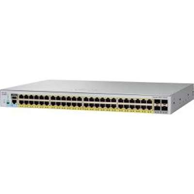 Коммутатор Catalyst 2960L 48 port GigE with PoE, 4 x 1G SFP, LAN Lite