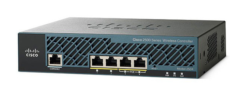 Контроллер 2504 Wireless Controller with 50 AP Licenses
