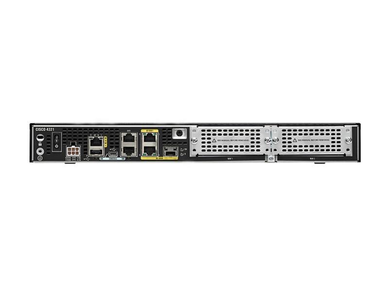 Роутер Cisco ISR 4321 (2GE,2NIM,4G FLASH,4G DRAM,IPB)