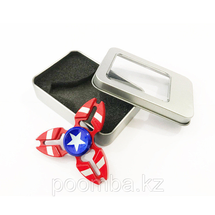 "Металлический спиннер""Капитан Америки"""
