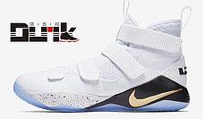 Баскетбольные кроссовки Nike Lebron James XI (11) Zoom Soldier, фото 3