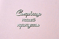 """Чипборд """"Сокровища нашей принцессы"""""""