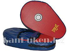 Лапы для кикбоксинга Everlast красно-синие