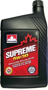 Моторное масло Petro-Canada Supreme 5w30 1 литр