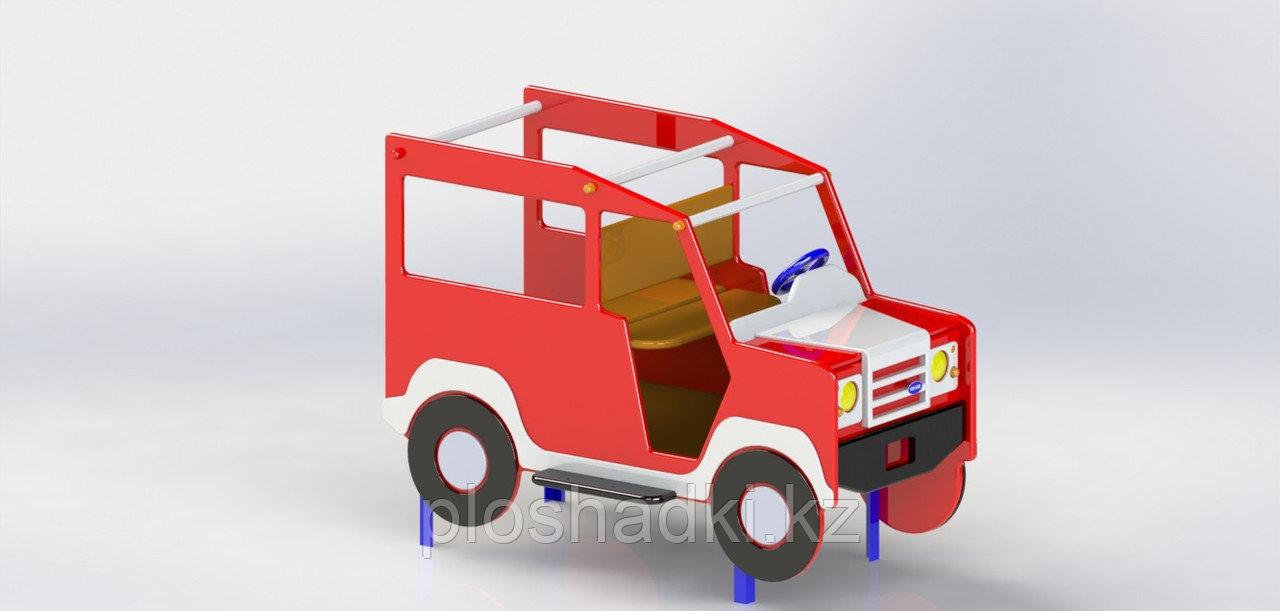 Игровой макет, машинка детская из металла, с рулём и сидениями