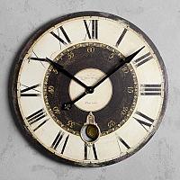 Настенные часы с двойным циферблатом Clock Double Frame
