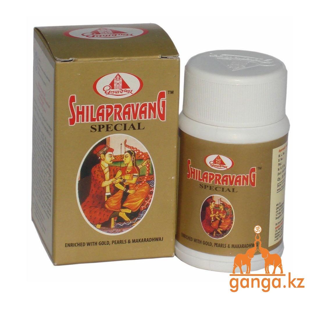 Шилаправанг – эффективное средство для мужского здоровья (Shilapravang Special, DHOOTAPAPESHWAR), 30 таб.