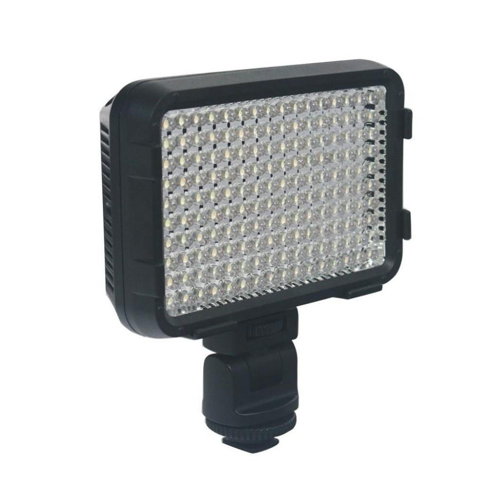 XT-160 II Накамерный LED прожектор фонарь+аккумулятор+зарядное устройство