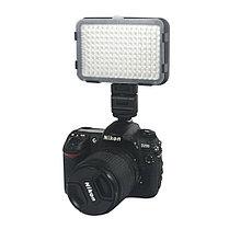 XT-160 II Накамерный LED прожектор фонарь+аккумулятор+зарядное устройство, фото 2