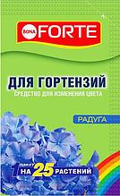 Средство для изменения цвета гортензий 100 г. BONA FORTE РАДУГА