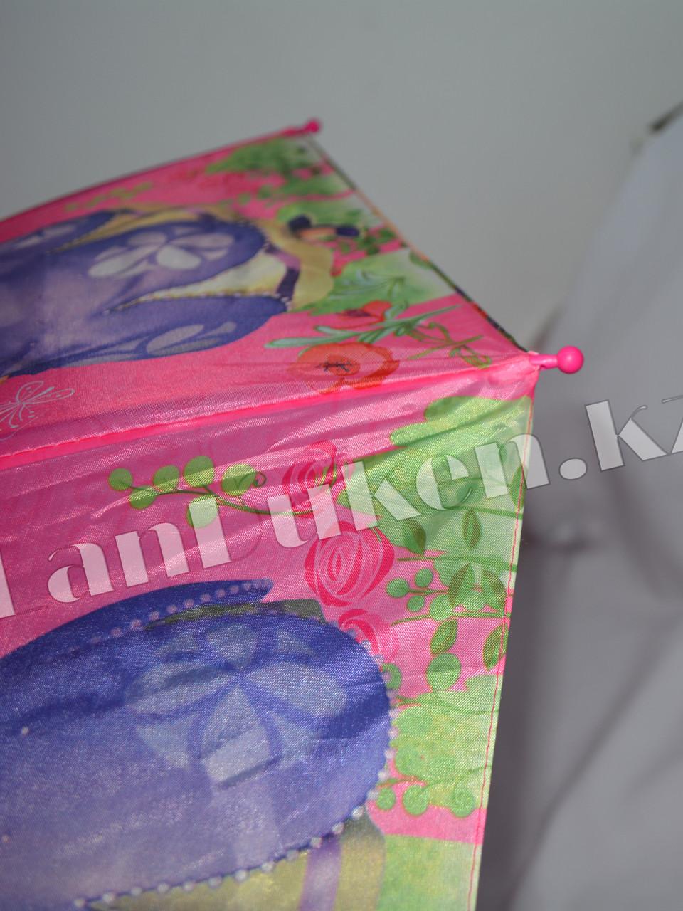 """Детский складной зонтик """"Принцесса София"""" (розовый) - фото 8"""