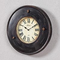 Металлические настенные часы Париж 1908 Metal Clock Paris 1908