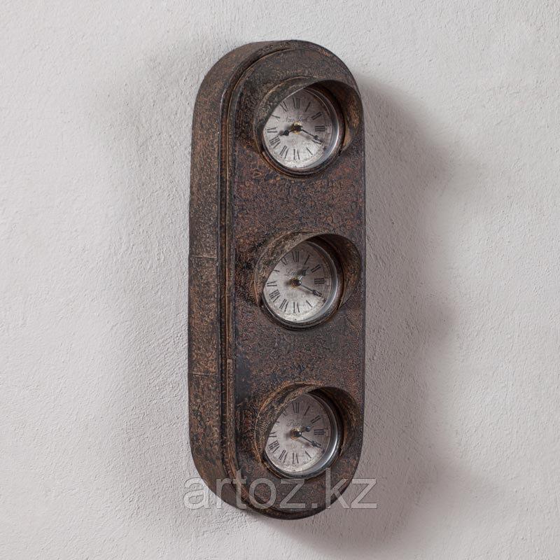 Металические настенные часы Светофор  Metal Clock Traffic Lights