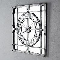 Настенные часы с зеркалом Mirror Clock