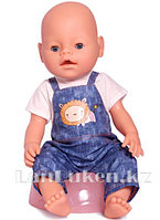 Детская кукла мальчик New Baby Born с аксессуарами