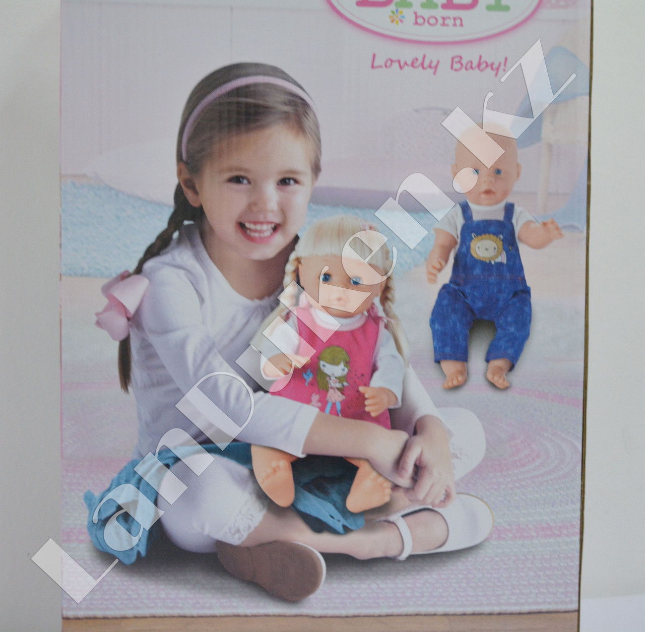 Детская кукла мальчик New Baby Born с аксессуарами - фото 4