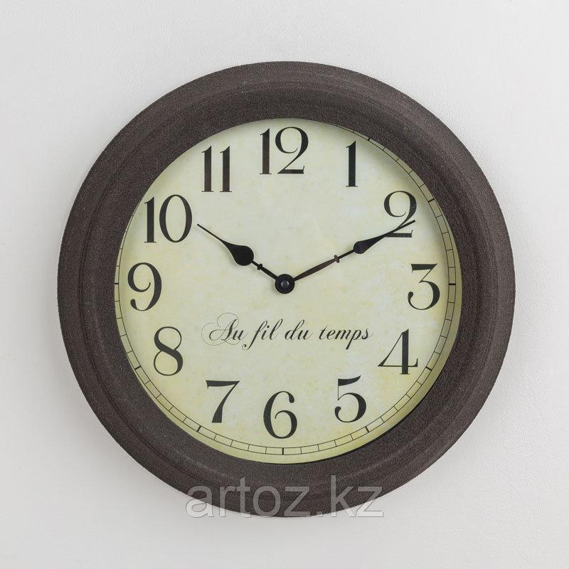 Настенные часы Течение Времени  Clock Au Fil Du Temps