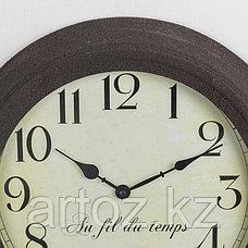 Настенные часы Течение Времени  Clock Au Fil Du Temps, фото 3