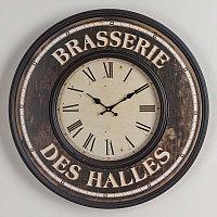 Настенные часы с римскими цифрами Брассерия Дез Аль Clock Brasserie Des Halles Chiffres Romain