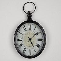 Овальные настенные часы Oval Clock Hotel De La Paix