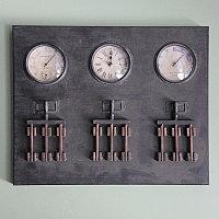 Стеновая панель с 3 циферблатами и крючками Wall Panel 3 Hooks With 3 Dials