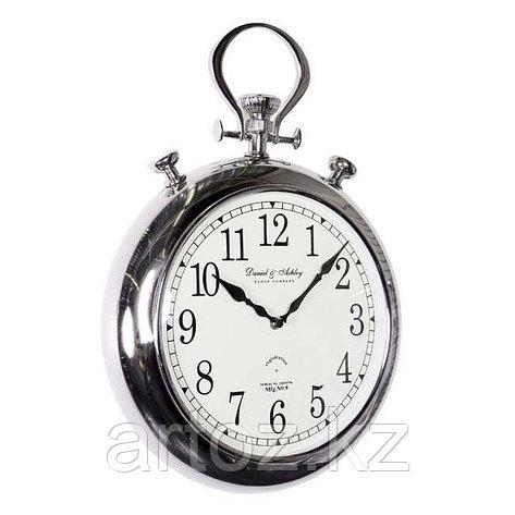 Настенные часы-хронометр, никелированная сталь  Clock Pocket, Nickel, фото 2