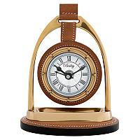 Настольные часы Бейли-наездника, латунь  Clock Bailey Equestrian, Brass
