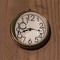 Настольные часы в бархатном мешочке Small Clock With Velvet Pouch