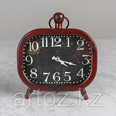 Красные настольные часы  Red Clock To Be Put, фото 2