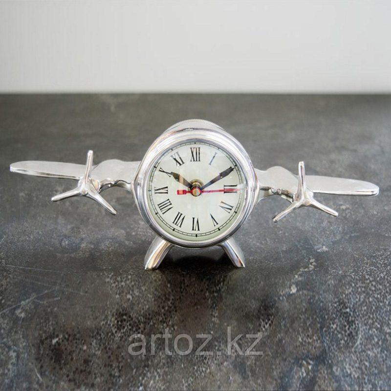 Настольные часы Авиация  Nickel Clock Aviation