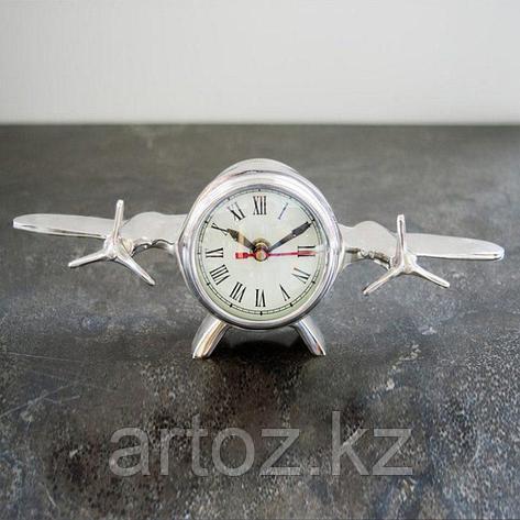 Настольные часы Авиация  Nickel Clock Aviation, фото 2
